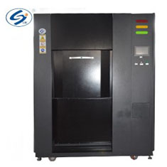 Three-box gas type thermal shock test chamber